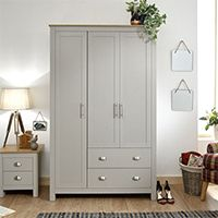 Three Door Wardrobes