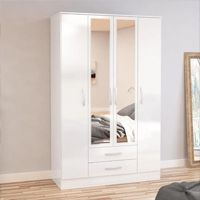 Four Door Wardrobes