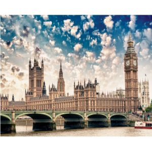Big Ben And Parliament Custom Made Picture Frame