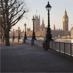 London By The Thames Custom Made Picture Frame