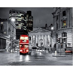 London Bus Custom Made Picture Frame