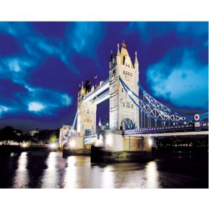 Tower Bridge At Night Custom Made Picture Frame