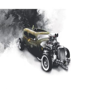 Hot Rod Car Custom Made Picture Frame