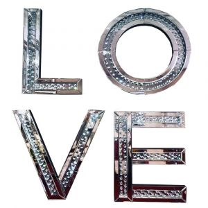 Floating Crystal Love Letters