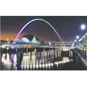 Newcastle Nightlife Custom Made Picture Frame