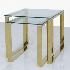 Harold Gold Nest Of Tables