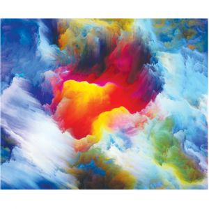 Colourful Clouds Custom Made Picture Frame