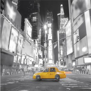 New York Taxi Custom Made Picture Frame