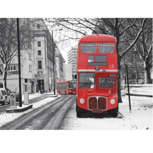 Red Bus Custom Made Picture Frame
