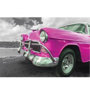 Pink Car Custom Made Picture Frame