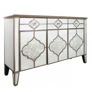 Mirrored Masira Sideboard
