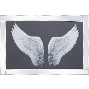 Wings Mirrored Picture Frame