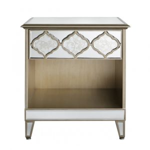 Mirrored Masira Bedside Alternative