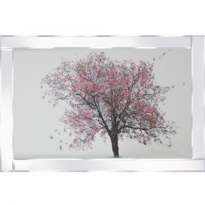 Blossom Tree Mirrored Picture Frame