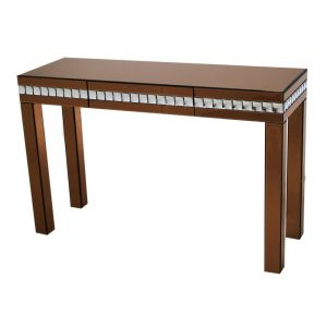 Diamond Mirrored Dressing/Console Table