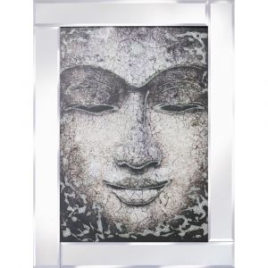 Buddha Mirrored Picture Frame
