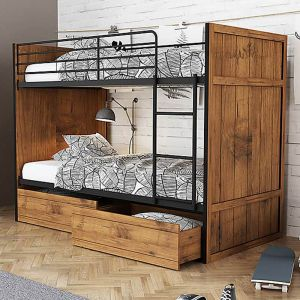 Rocco Bunk Bed with Drawers Alternative