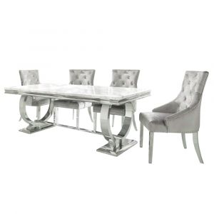 Chelsea Marble Dining Table