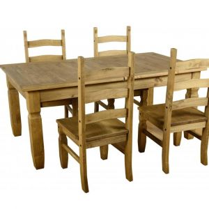 Clara Extending Dining Table With 4 Chairs  Alternative