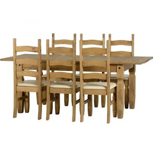 Clara Extending Dining Table With 6 Chairs Alternative