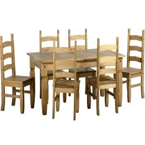 Clara Extending Dining Table With 6 Chairs