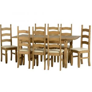 Clara Extending Dining Table With 8 Chairs