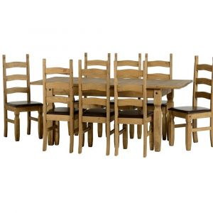 Clara Extending Dining Table With 8 Chairs  Alternative