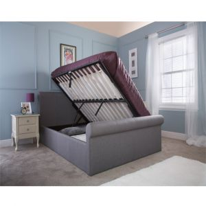 Coral Silver Double Dual Opening Bedstead  Alternative