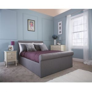 Coral Silver Double Dual Opening Bedstead