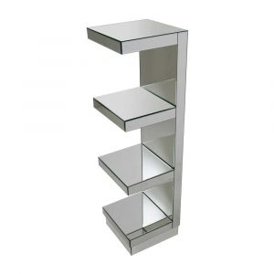 Mirrored 4 Tier Display Unit