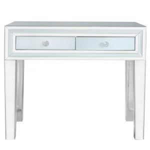 Grey Mirrored Marco Small Dressing Table