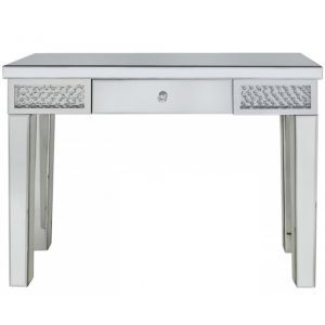 Floating Crystal Mirrored Dressing Table