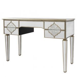 Mirrored Masira 5 Drawer Dressing Table