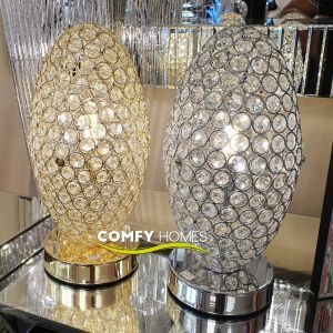Egg Touch Table Lamp (Silver)