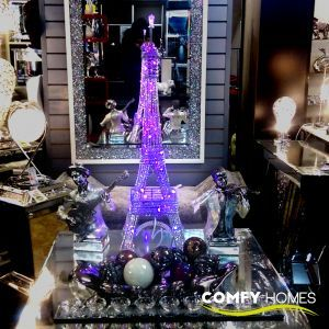 Eiffel Tower Colour Changing Led Mesh Lamp