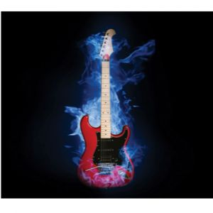 Electric Guitar Custom Made Picture Frame