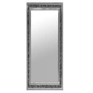 Crushed Crystal Wall Mirror - 3 Sizes (Milano) Alternative