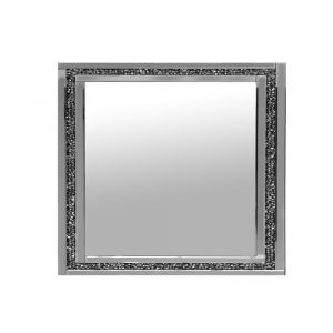 Crushed Crystal Wall Mirror - 3 Sizes (Milano)