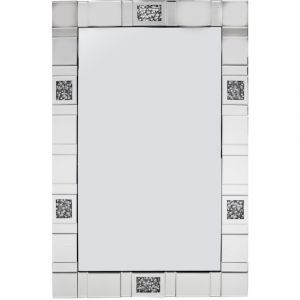 Crushed Crystal 120 X 80Cm Tiled Wall Mirror (Milano) Alternative