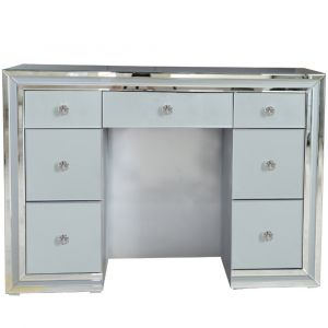 Grey Mirrored Marco Dressing Table