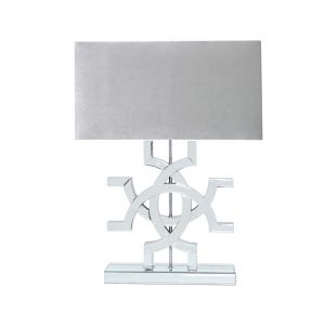 Athena Mirrored Table Lamp