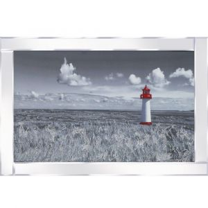Lighthouse Mirrored Picture Frame