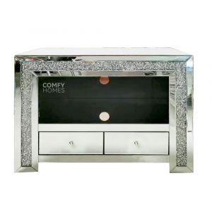 Crushed Crystal 80cm TV Stand (Milano)