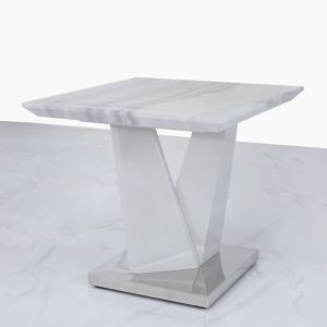 Avery Marble Effect Side Table