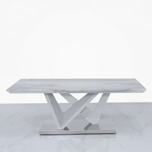 Avery Marble Effect Coffee Table