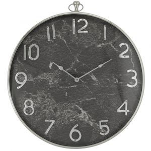 Marble Effect Wall Clock