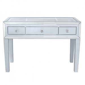 Grey Marco 3 Drawer Dressing Table