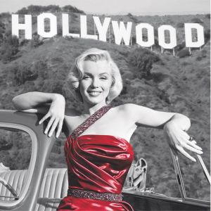 Marilyn Monroe In Hollywood Custom Made Picture Frame