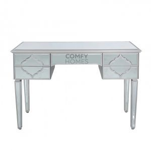 Mirrored Masira Silver Dressing Table