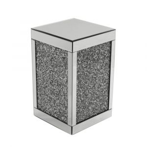 Mirrored Crushed Crystal Cube (Milano)